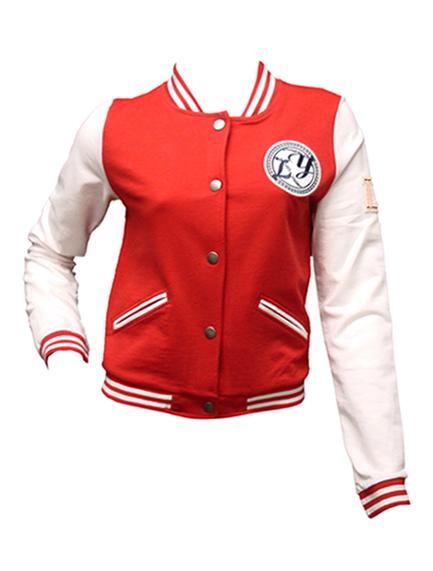 Red Baseball Jacket - JacketIn