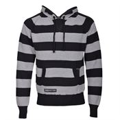 Buy Striped Knitted Hoody