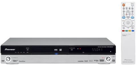 Buy DVD Recorder, 1080p DVR-550HX-S