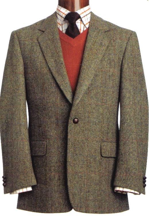 Harris Tweed Sports Jacket - Taransay, Bridport