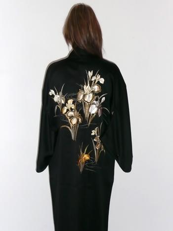 Buy Women's Polyester Embroidered Kimono