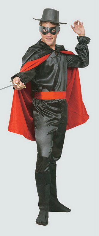 Buy Outlaw Bandit Fancy Dress Costume for Men