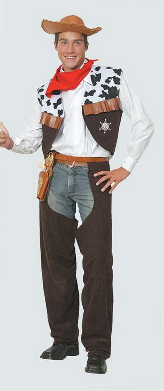 Buy Wild Wild West Cowboy Fancy Dress Costume for Men