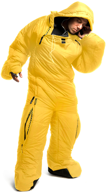 Musuc Body Sleeping Bag With Arms Legs