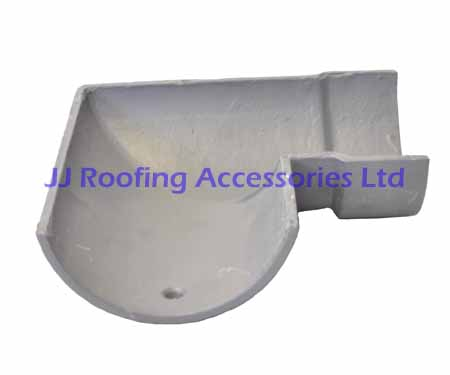 Cast Iron Left Hand 90 Degree Half Round Gutter Angle