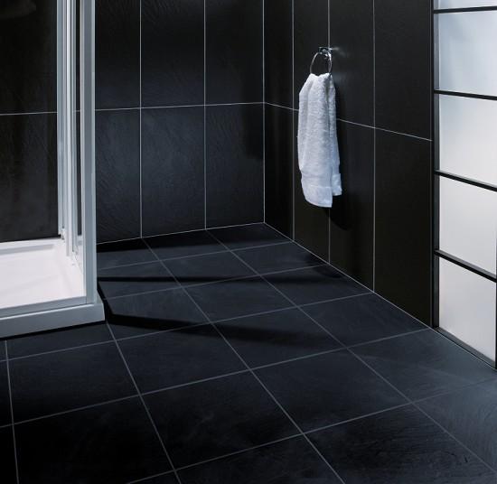 qrock black floor tile