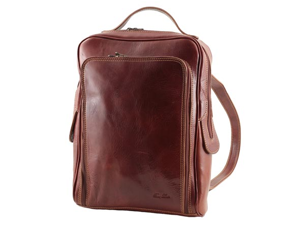 Lappack Brown Leather Laptop Backpack — Buy Lappack Brown Leather ...