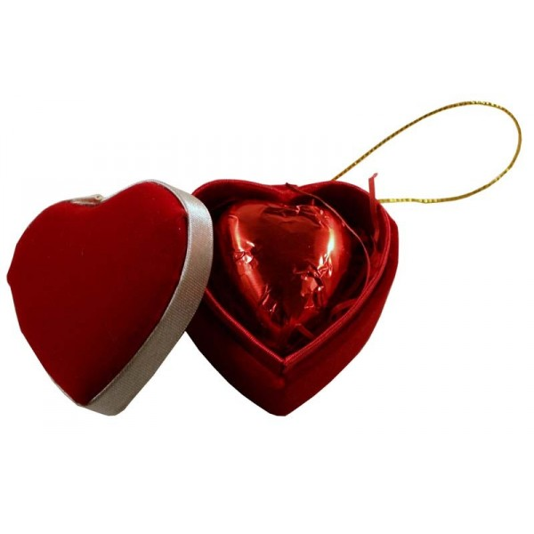 Buy Single Heart Box (1 Chocolate) - Carrick's of Penrith