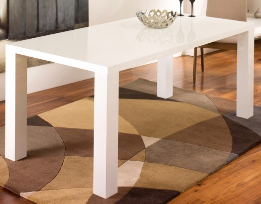 Magnificent Buy Rectangular gloss dining table white 524 x 410 · 42 kB · jpeg