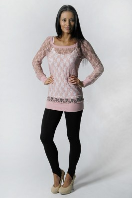 Buy Lace Knitted Jumper