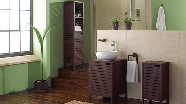 New  Curved Freestanding Bathroom Furniture  Tall Bathroom Cabinet