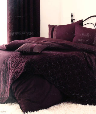 Blythe bed in a bag aubergine buy blythe bed in a bag aubergine price photo blythe bed in a - Bedlinnen aubergine ...