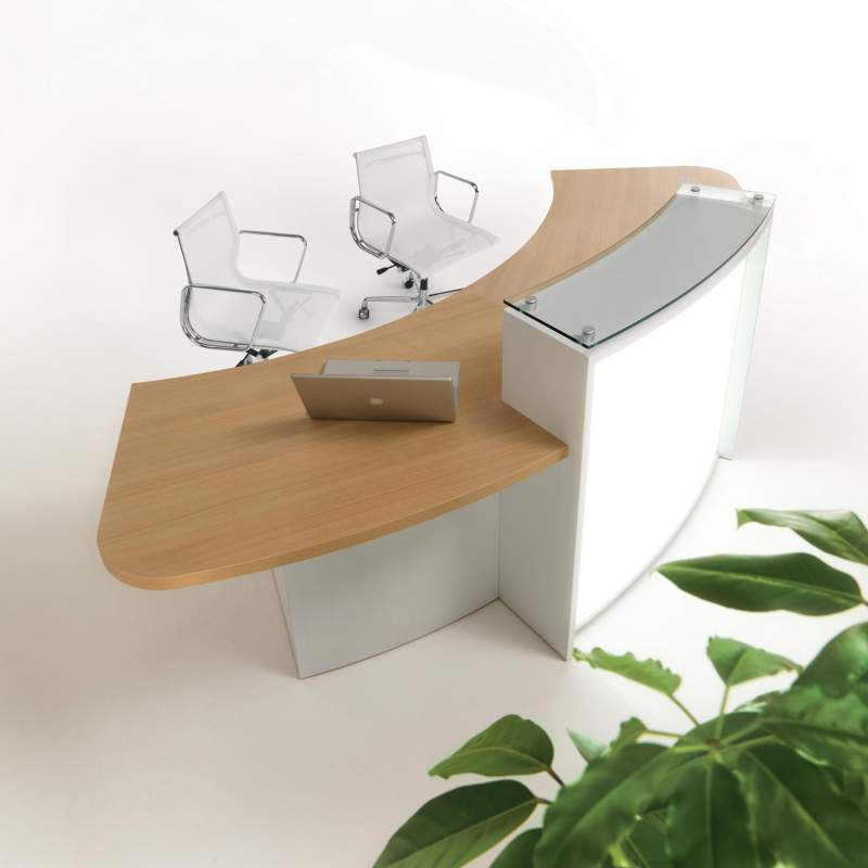 Buy Evolution Light Reception Desks