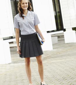 6a48b75a7a Stitch Down Pleat Skirt buy in Clitheroe