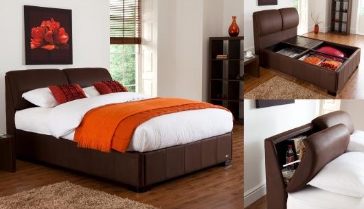 Vantage King Size Storage Bed Frame
