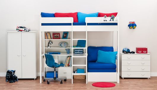 Mi-Space Single Hi-Sleeper Bunk Bed
