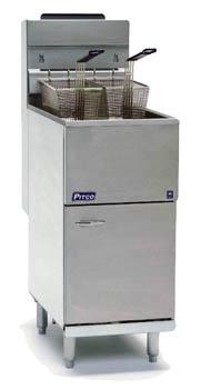 Pitco C35 single pan gas fryer