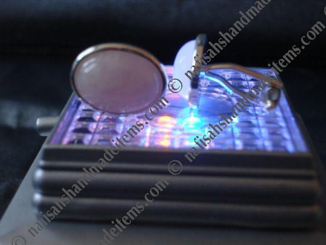 Buy Rose Quartz Cufflinks