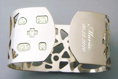 Buy Silver Cuff Bangle