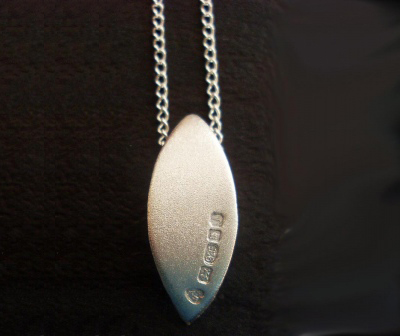 Buy Silver Leaf Pendant