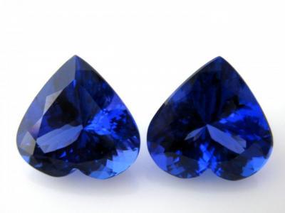 Tanzanite precious stone