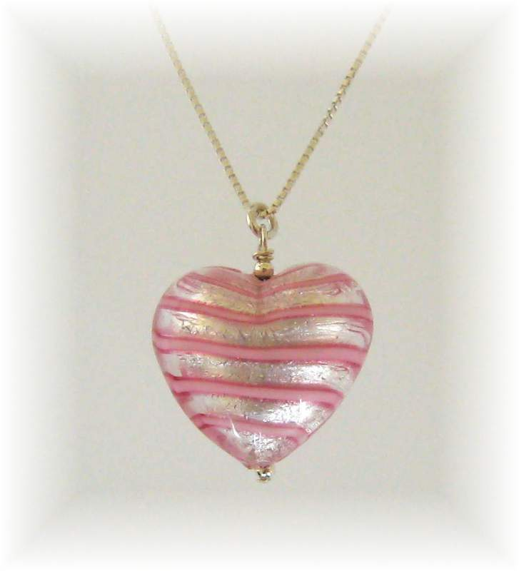 Candyflos heart necklace