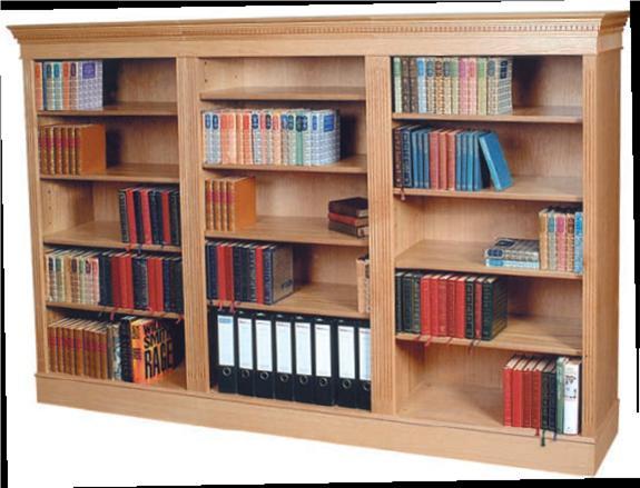 Книжные шкафы - bristows furniture, company иеовил (великобр.