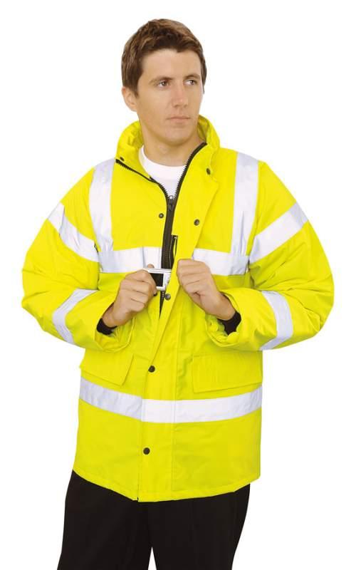 Buy Hi Vis Traffic Jacket