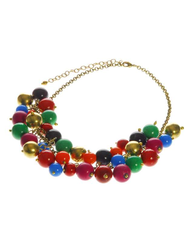 Fair Trade Bright Bead Necklace