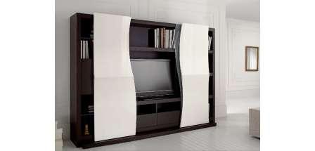 Azur Tv Unit With Sliding Doors