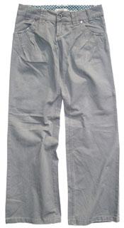 Buy Ichi steel wide leg pants