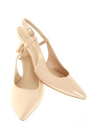 Pale Pink Kitten Heel Shoes | Tsaa Heel