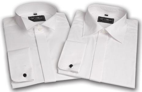 Cotton Rich Plain Wedding Shirt
