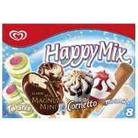 Buy Cornetto happy mix 530ml Icecream