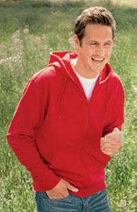 Buy Tagless - Men's Organic Hooded Sweat Jacket