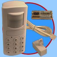Buy Motion Detection Wireless Burglar Alarm with Autodialer