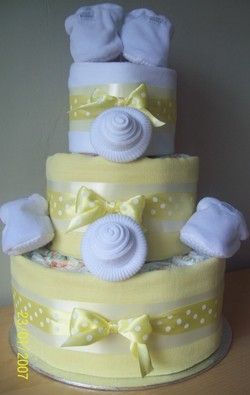 Twins Baby Shower Nappy Cakes Buy In London