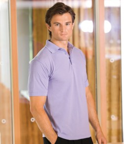 Buy Henbury Heavy Pique Polo Shirt