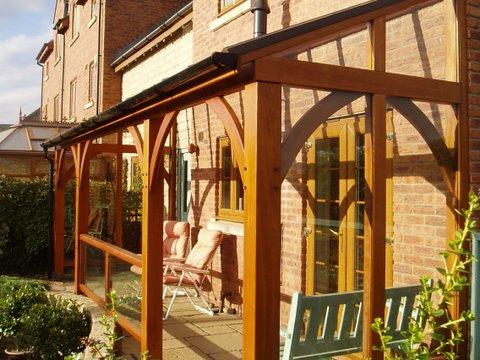 Buy Purpose Built Cedar and Glass Veranda