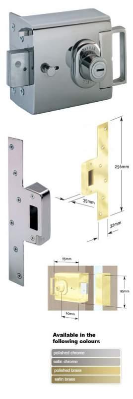 L2000 Rim Deadbolt Lock