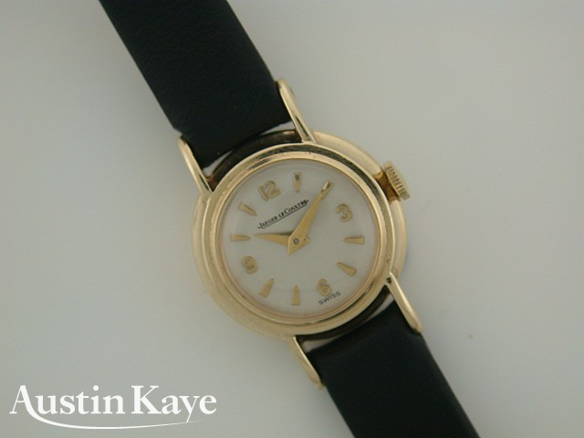 Ladies Jaeger-le Coultre Manual Wind 9ct Gold on Strap