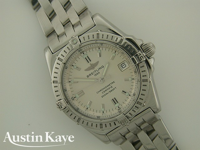 Ladies Breitling Callisto Quartz Steel on Bracelet