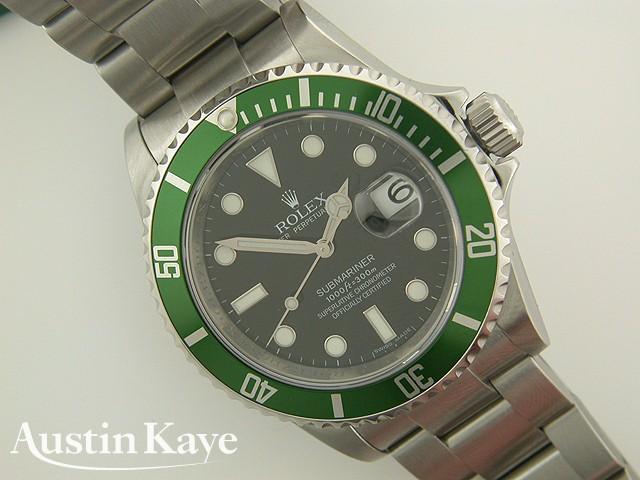 Gents Rolex Submariner Oyster Perpetual Steel on Bracelet