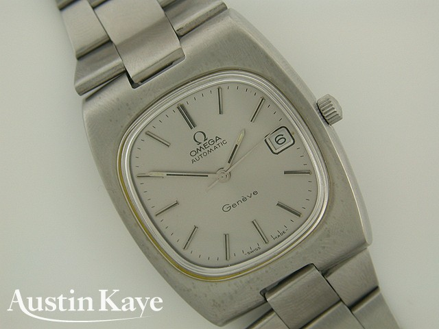 Gents Omega Geneve Automatic Steel on Bracelet