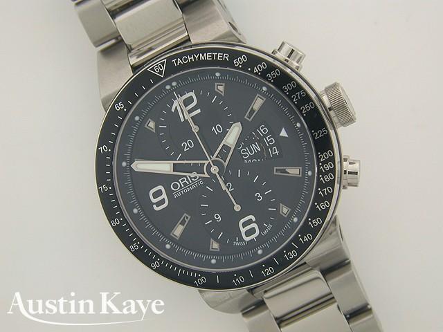 Gents Oris Williams F1 Team chronograph steel Automatic on bracelet