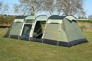 K&a Pendine 8 Berth Family Tunnel Tent 2011 model & Kampa Pendine 8 Berth Family Tunnel Tent 2011 model buy in Mansfield