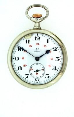 Buy OMEGA OPEN FACED POCKET WATCH - C1910