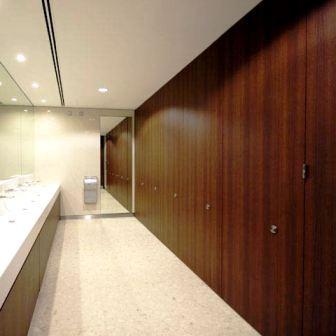 Burj toilet cubicles