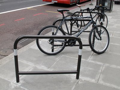 Buy Capital Polyamide Coated Cycle Stand Root Fixed