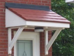 Grassmere GRP Door Canopy